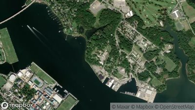 US Naval Academy Annapolis Drone NoFly Zone Hivemapper Drone Map - Us no fly zones map