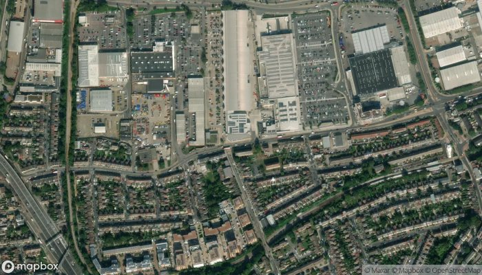 Anytime Fitness Greenwich London satellite image