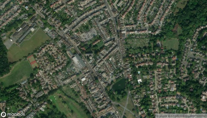 Abbey Estates satellite image