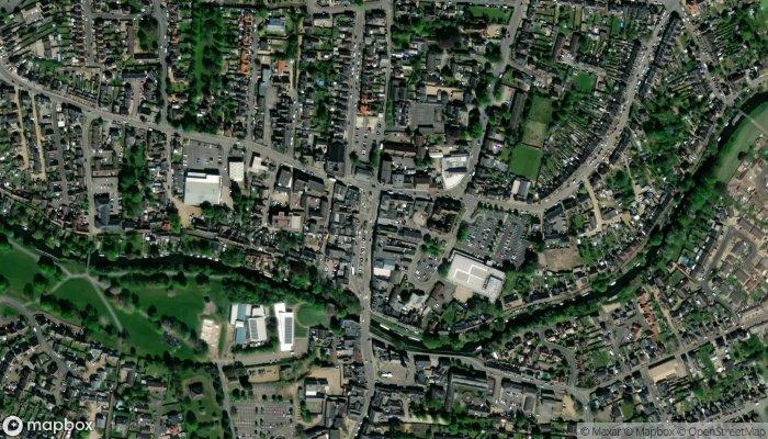 Tesco Direct Click And Collect satellite image