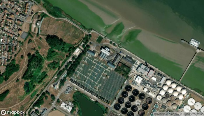 The Crossness Pumping Station satellite image