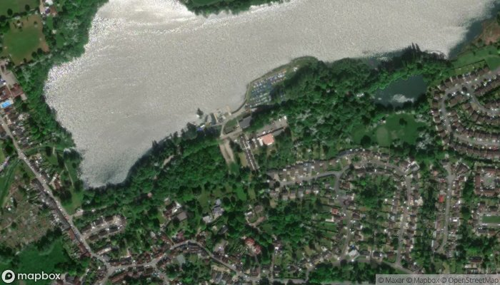 Chipstead Lake Activities Centre satellite image