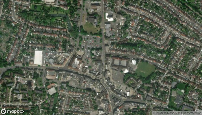 The Hornchurch Conservative Club satellite image
