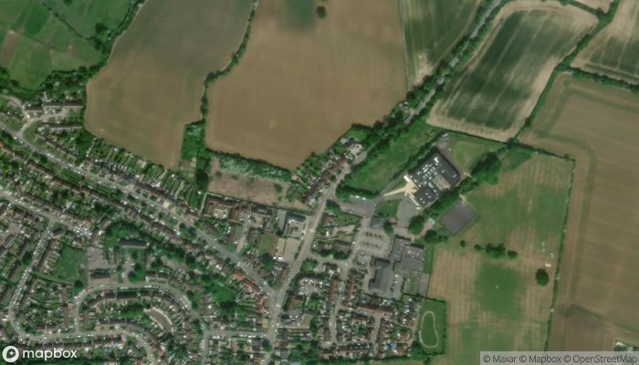 Dr D A Rogers Ongar Health Centre satellite image
