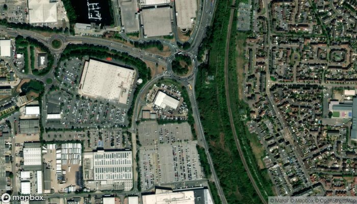Smart At Mercedes Benz Of Lakeside satellite image