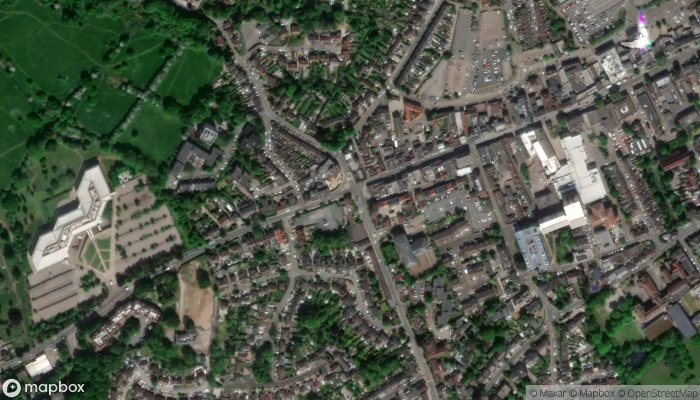 Bennetts Classic Wedding Car Hire satellite image
