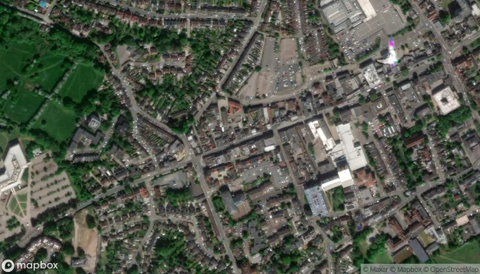 Domino S Pizza Brentwood satellite image