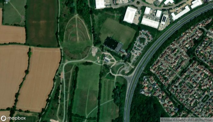 Discovery Park satellite image