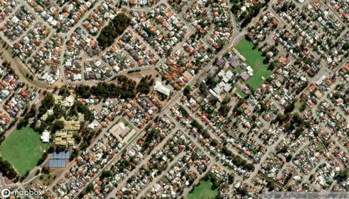 The Salvation Army Armadale Corps satellite image