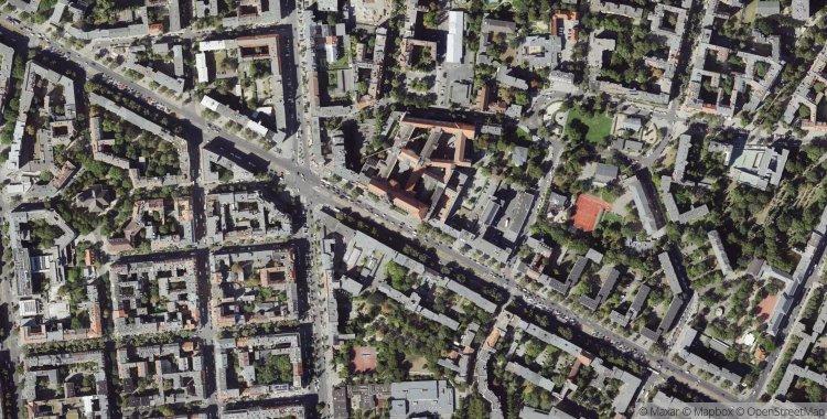 Location of Rathaus Charlottenburg