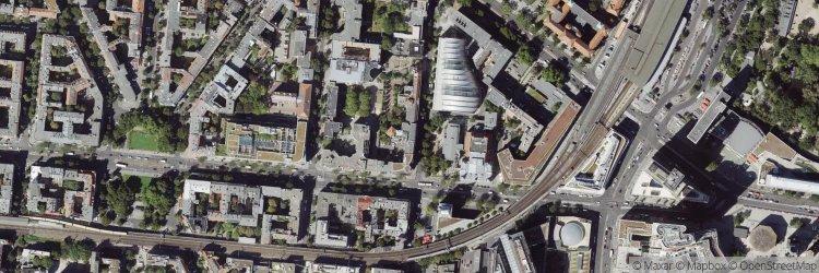 Location of Savoy Hotel