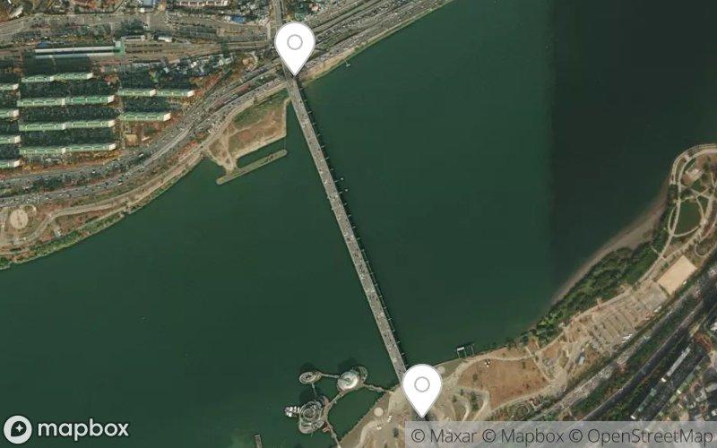Banpo Bridge in Seoul