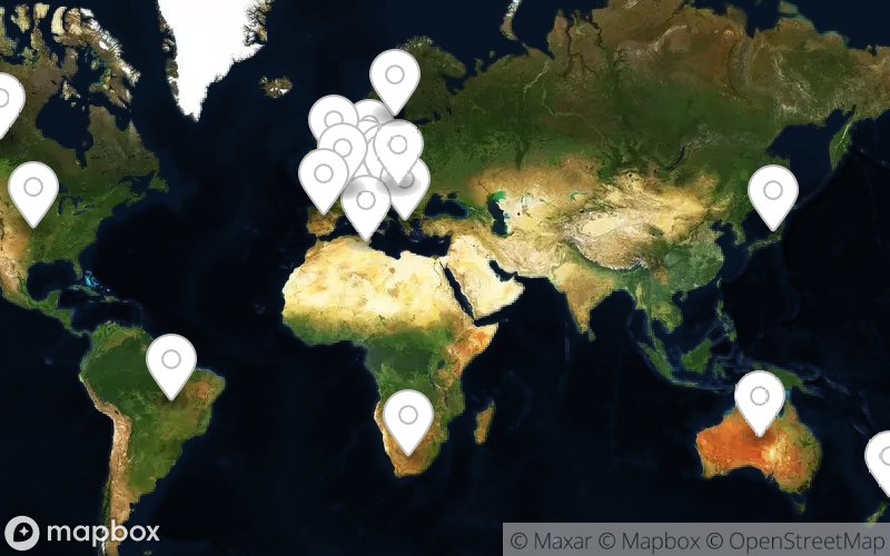 Meine Weltkarte