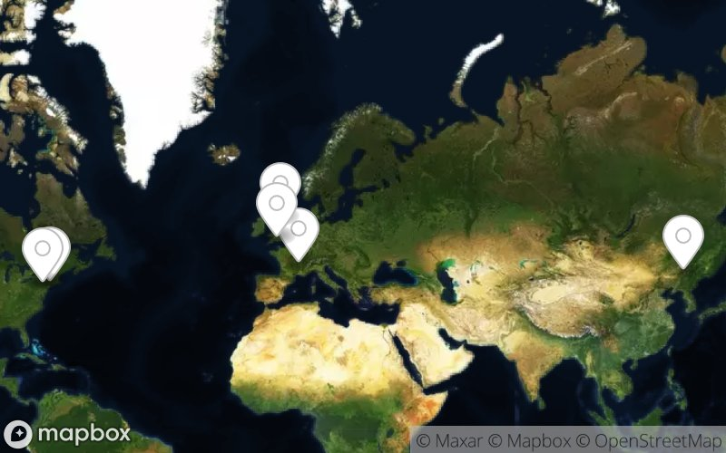Phallus-Symbole in Google Maps
