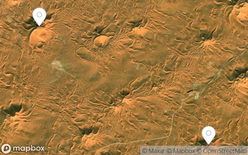 Sterndünen in der Sahara