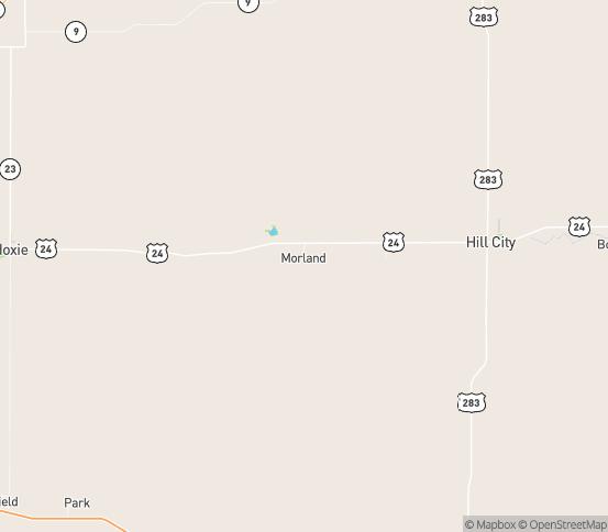 Map of Morland, KS