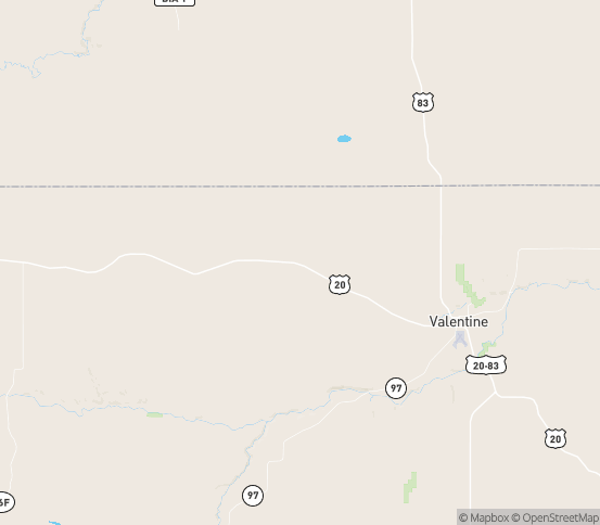 Map of Crookston, NE