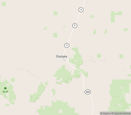 Map of Ekalaka, MT