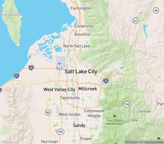 Map of S Salt Lake, UT