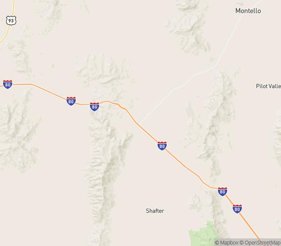 Map of Wells, NV