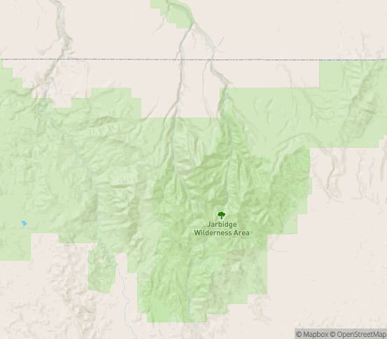 Map of Mountain City, NV