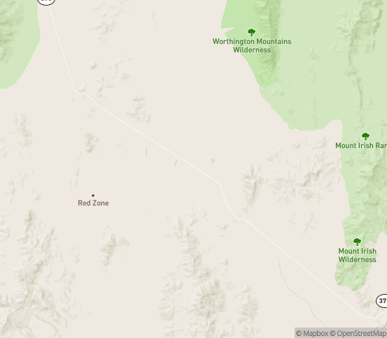 Map of Hiko, NV