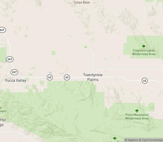 Map of Twntynine Plm, CA