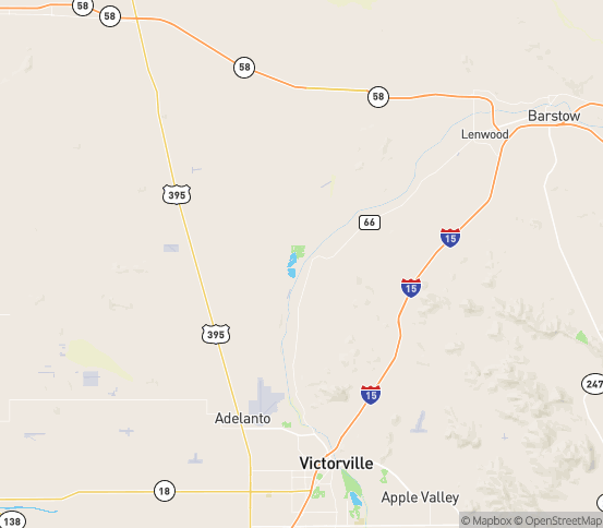Map of Helendale, CA