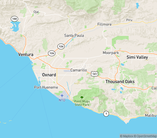 Map of Somis, CA