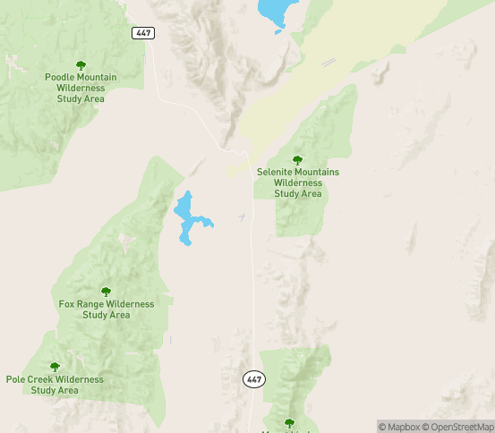 Map of Lovelock, NV