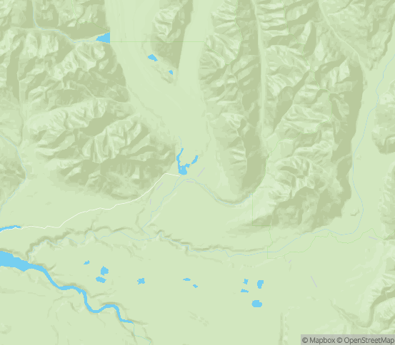 Map of Chitina, AK