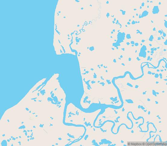 Map of Pilot Point, AK