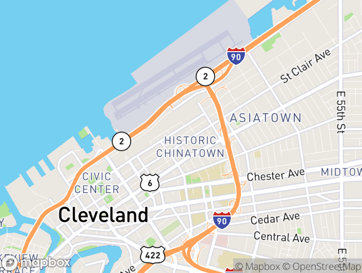 TaxiFareFinder - Cleveland-Hopkins International Airport (CLE) using on
