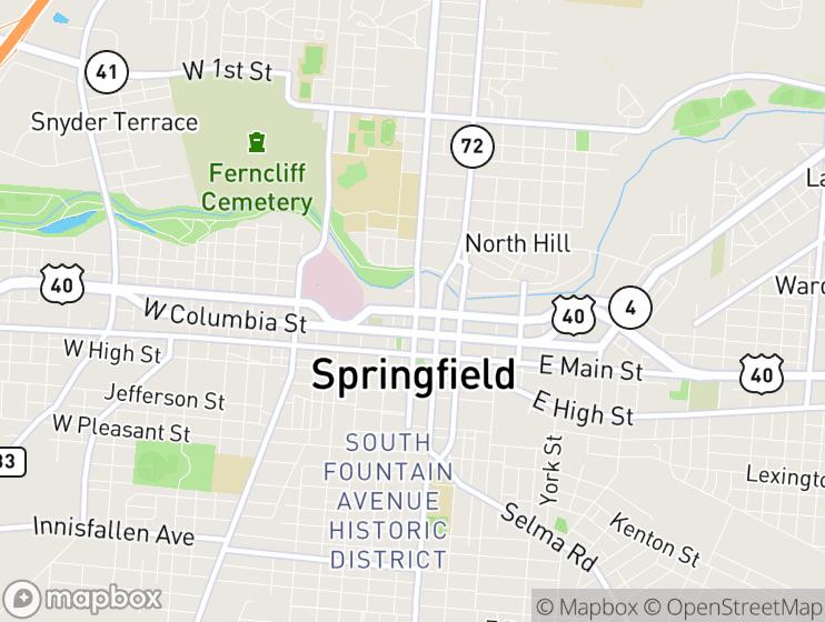 Springboro Ohio Map.Taxifarefinder 25 Milford Court Springboro Ohio 45066 United