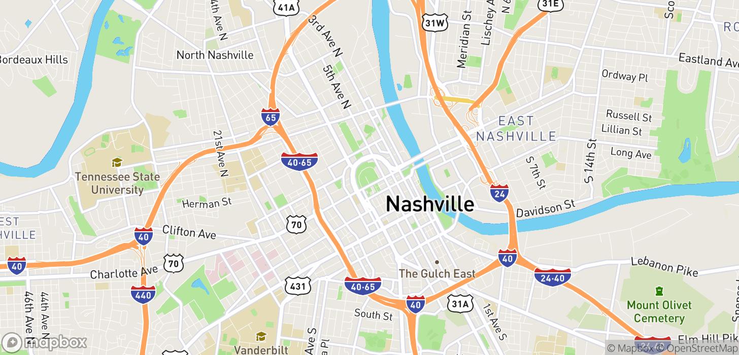 Taxifarefinder Nashville Tn Estimate Your Taxi Cab Fare Cost Rates