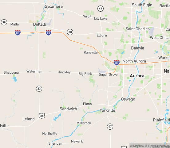 Map of Big Rock, IL