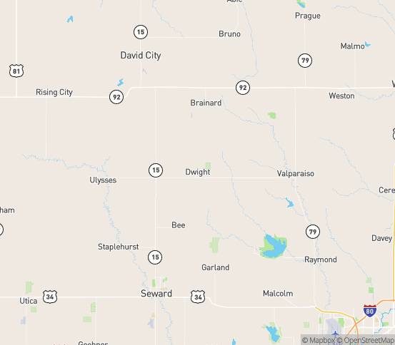 Map of Dwight, NE