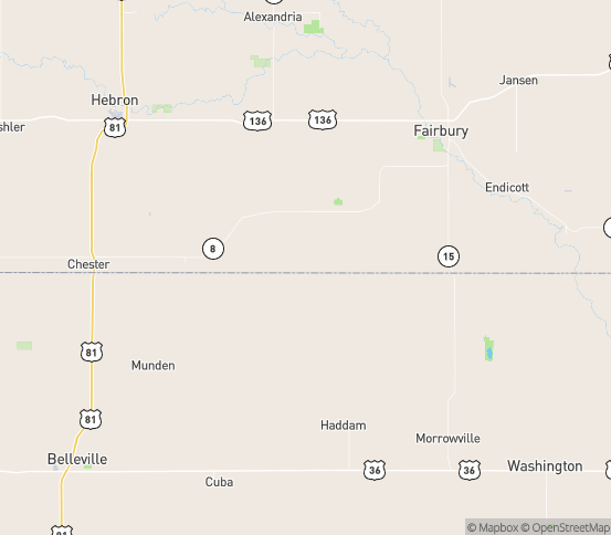 Map of Reynolds, NE