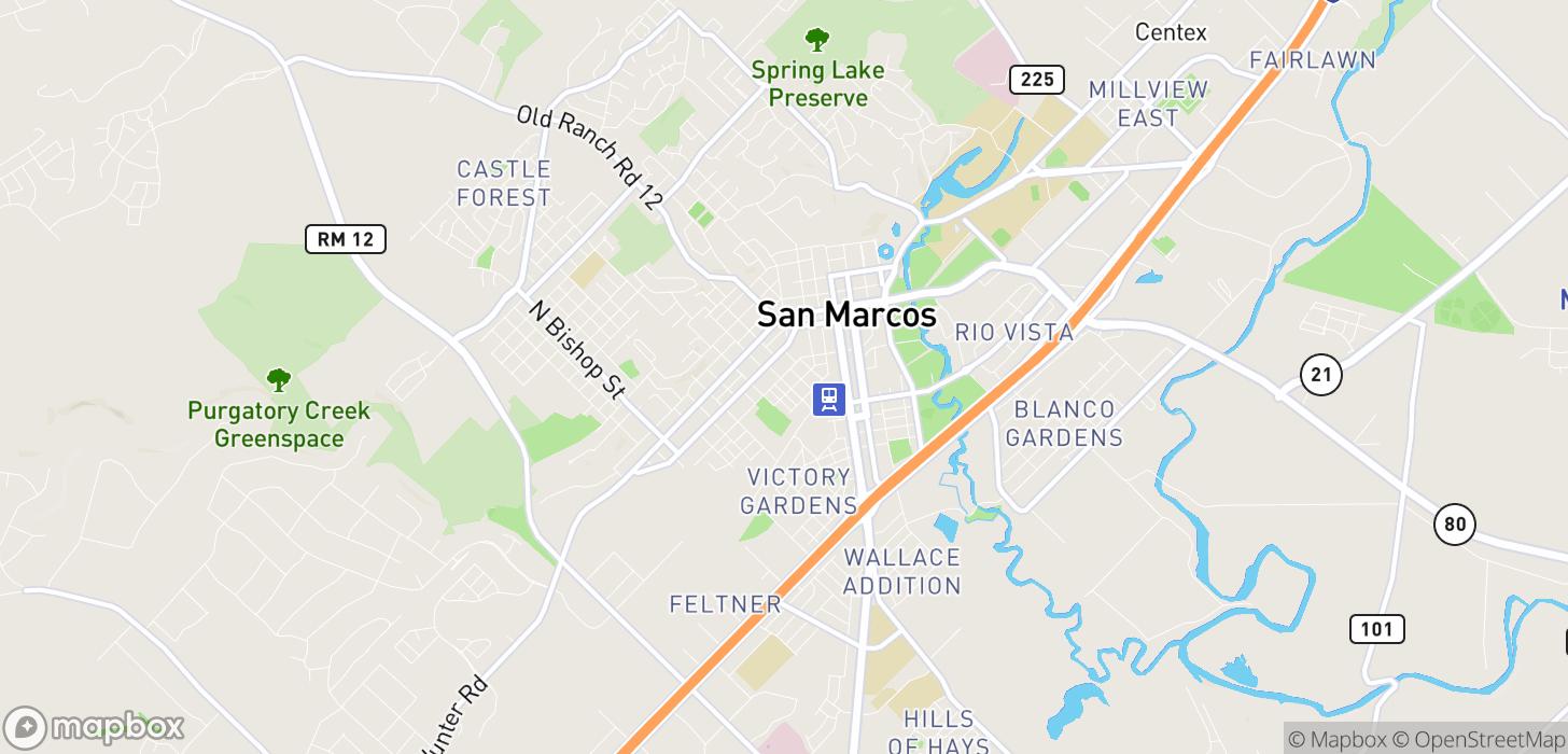 San Marcos Outlet Map muni bus map wpunj campus map
