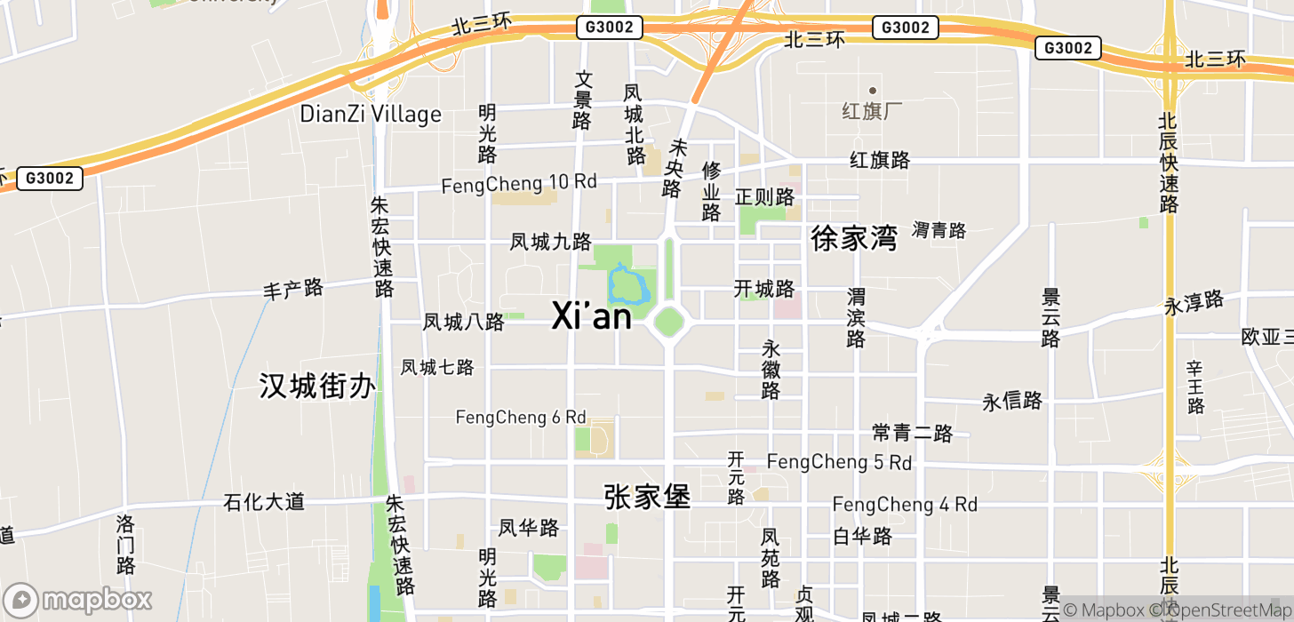 Taxifarefinder Xi An Xianyang International Airport Using Didi