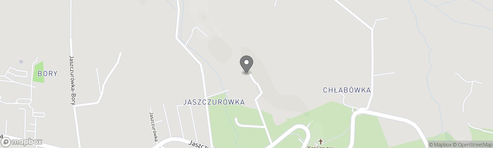 Map of Zakopane area