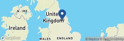 Map of Best Western Plus Dean Court, England