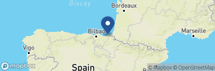 Map of Hotel Maria Cristina, Spain