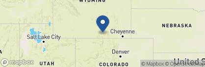 Map of The Lodge & Spa at Brush Creek Ranch, US