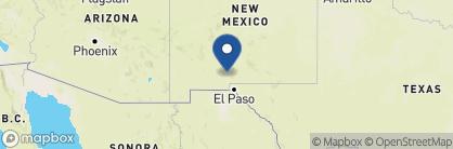 Map of Hotel Encanto de Las Cruces, USA