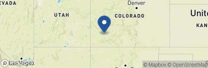 Map of Bear Creek Lodge, USA