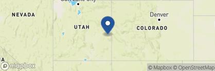 Map of Sorrel River Ranch, USA