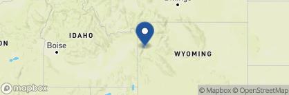 Map of Signal Mountain Lodge, USA