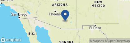 Map of Tanque Verde Ranch, USA