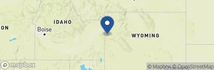 Map of Hotel Terra Jackson Hole, USA